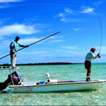 Fly fishing for bonefish in Cuba