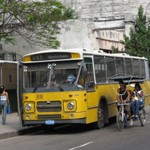 local bus in Havana